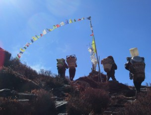 Népal, Rolwaling, Daldung La