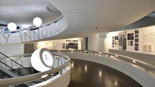Budova muzea zevnitř