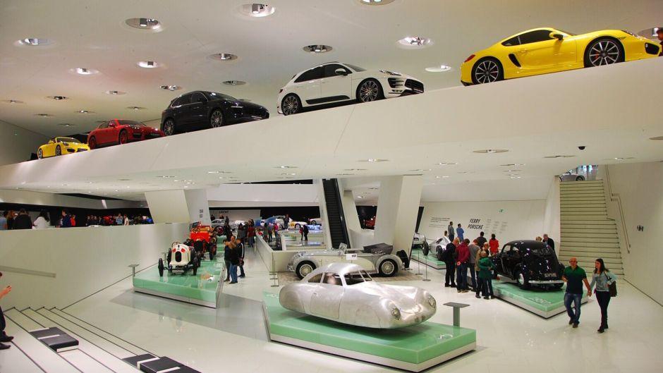Interieér Porsche MUzea