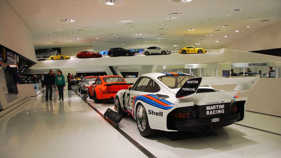 Řada závodních vozů Porsche