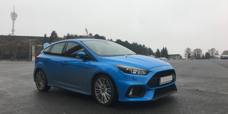 Ford Focus RS 2016 na strahově