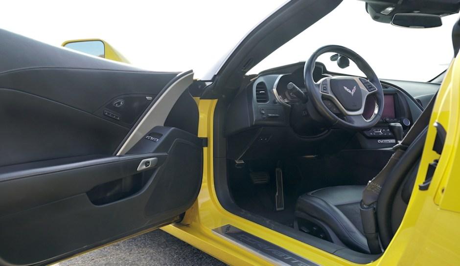 Chevrolet Corvette Stingray C7 Interior