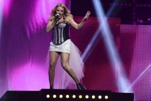 """Siegerin beim deutschen Vorentscheid: Sängerin Natalie Horler von """"Cascada"""" (Foto: NDR/Willi Weber)"""