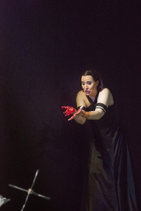 Gun-Brit Barkmin als Lady Macbeth in Essen. Foto: Matthias Jung