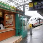 Ein ICE der DB im Bahnhof Paris Nord. (Foto: Pöpsel)