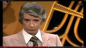 Rudi Carrell in der Sendung vom 25. April 1976. (Screenshot aus: https://www.youtube.com/watch?v=zgADLE9zduU)