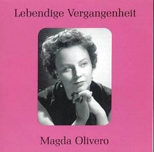 """Magda Olivero ist tot - doch ihre Stimme lebt auf zahllosen Aufnahmen weiter. Wichtige Partien ihres Repertoires vereint dieses Album aus der Serie """"Lebendige Vergangenheit""""."""