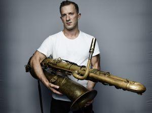 Saxophonist der Sonderklasse: Colin Stetson. (Foto: © Frank Schemmann)