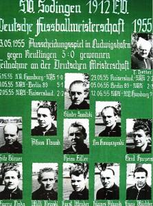 Wäre 1955 fast ins Finale um die Deutsche Meisterschaft vorgedrungen: die Herner Vorort-Mannschaft des SV Sodingen.