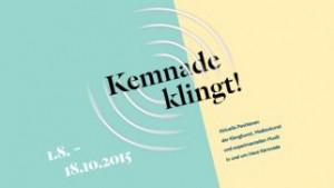 Kemnade_klingt! Wenigstens hier und da. Und ein Logo hat die Klangschau auch. (Foto: Kunstverein Bochum)