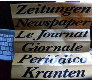 Polyglotte Briefkasten-Beschriftungen (Foto: BB)