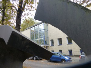 Blick aufs frühere Museum am Ostwall, das künftig zum Baukunstarchiv wird. (Foto vom Oktober 2013: Bernd Berke)