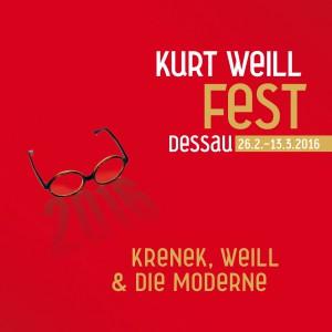 Kurt Weill Fest Dessau 2016 Logo