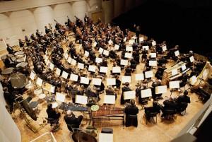 Die Dortmunder Philharmoniker. Foto: Magdalena Spinn