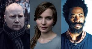 Jóhann Jóhannsson,  Hildur Guðnadóttir,  Robert Aiki Aubrey Lowe © Nick Schonfeld / Rune Kongsro / Liz Deleo