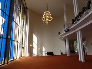 Am Kooperations-Projekt beteiligt: das Schauspielhaus Bochum (Innenansicht). (Foto: Bernd Berke)
