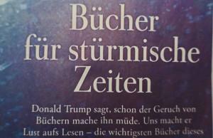 """Ausriss aus der heutigen Titelseite der Hamburger Wochenzeitung """"Die Zeit""""."""