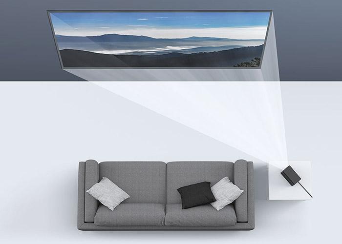 Xiaomi Mi Home Projector Distortion Correction