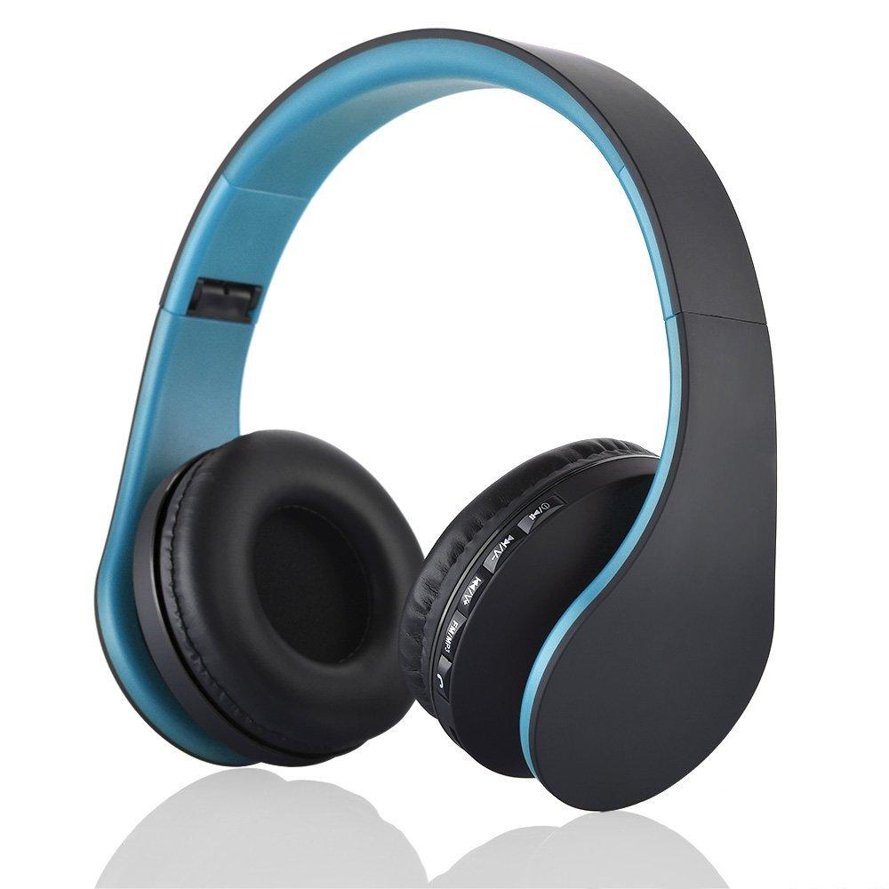 JINCHAO Cascos Bluetooth 4.0 Auriculares con Micrófono