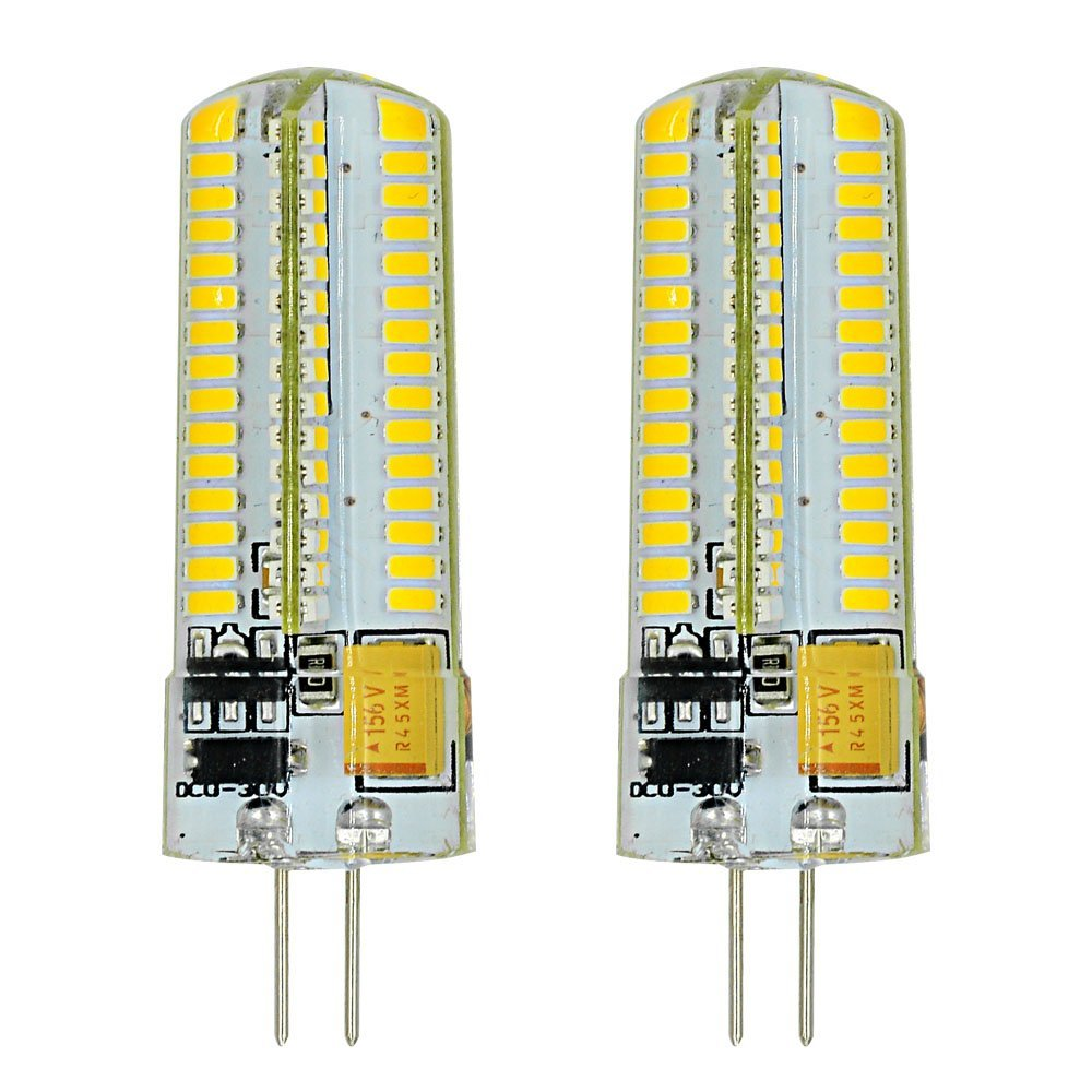 MENGS Pack de 2 Bombilla lámpara LED