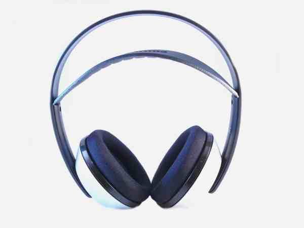 Imagem de um fone de ouvido sem fio.