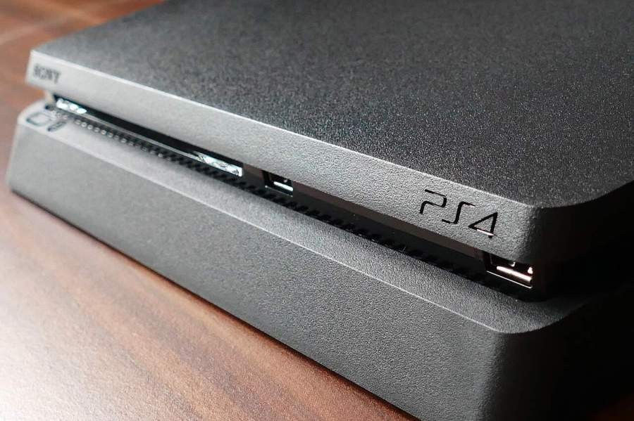 Imagem de console de playstation 4.