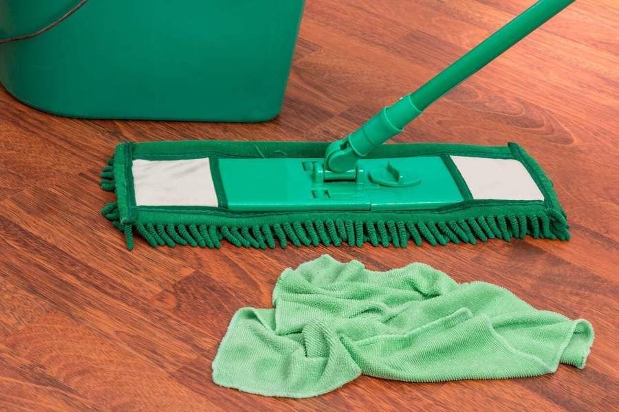 Imagem de um Mop para poeira.