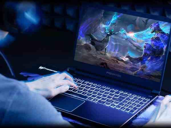 Imagem de um notebook gamer Acer.
