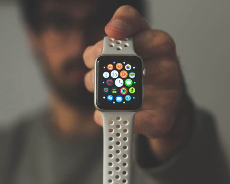 Smartwatch in primo piano