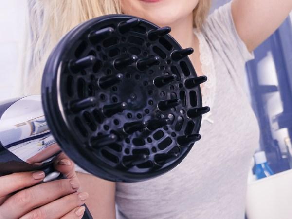Un diffusore di un phon in primo piano