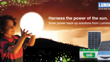 Luminous Launched Solar Inverter Powered iQu Internet of Things (IOT)