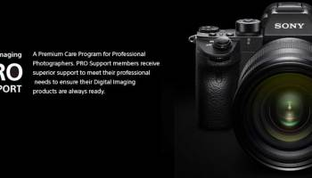Sony Imaging Pro Support Now Available in India