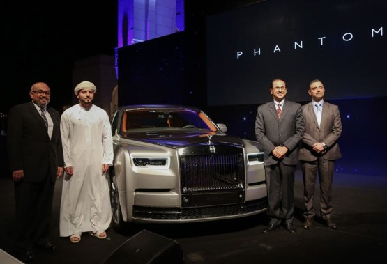 New Rolls-Royce Phantom Debuts in Oman