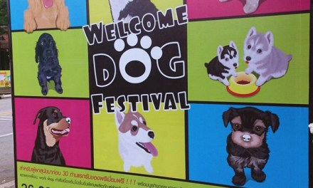 Welcome dog festival @Jingjai Market