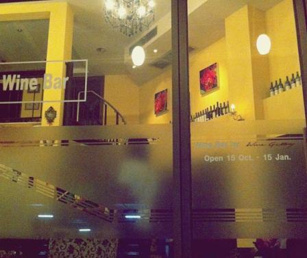 Wine Bar at Wine Gallery ร้านไวน์เชียงใหม่