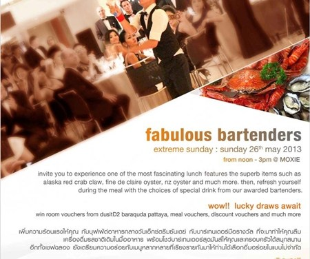 Fabulous Bartenders Extreme Sunday @DusitD2 Chiang Mai