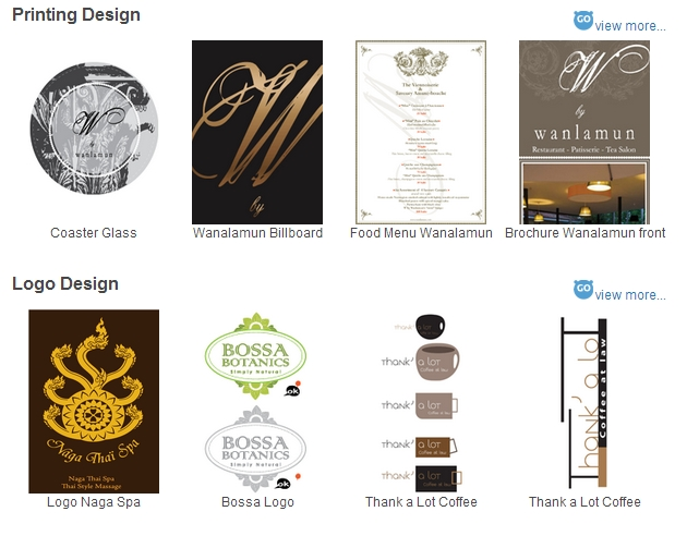 """GoGraphic (โกกราฟฟิก) ผู้ให้บริการงานกราฟฟิกทุกชนิด """"งานสวยหรูมีคุณภาพ ออกแบบสวยงาม ราคาเป็นธรรม"""""""