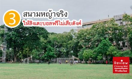 3 สนามหญ้าจริง ให้สิงเตะบอลฟรีไม่เสียตังค์