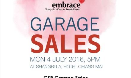 เปิดท้ายขายของ (CSR-Garage Sales) ที่โรงแรมแชงกรี-ลา เชียงใหม่