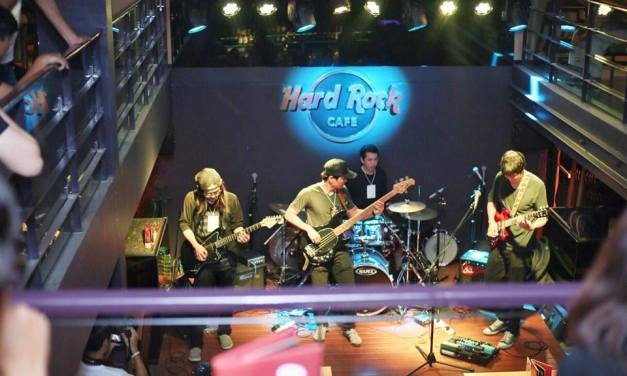 FOXY 'Robot' Album Release Live at Hard Rock Cafe Chiang Mai