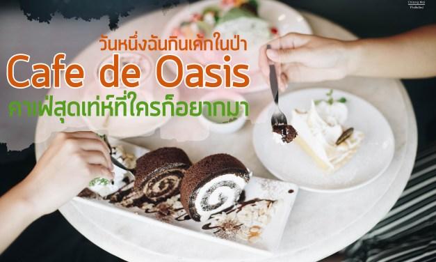 วันหนึ่งฉันกินเค้กในป่า Cafe de Oasis คาเฟ่สุดเท่ห์ที่ใครก็อยากมา