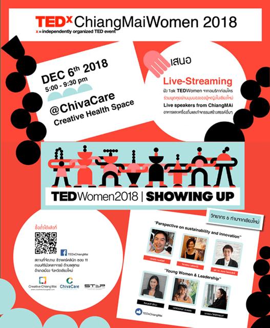 TEDxChiangMaiWomen 2018 ทำไมต้องมางานนี้?