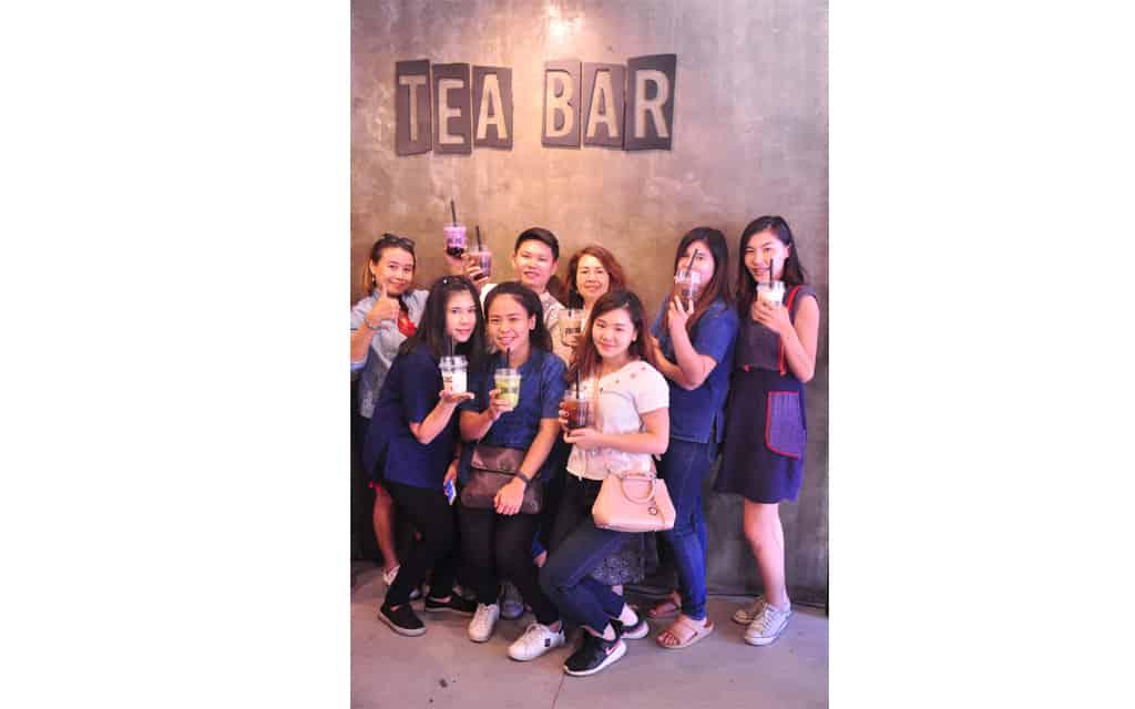 Tea Bar Bubble Tea Buffet ร้านชามุกอร่อยไม่ธรรมดา