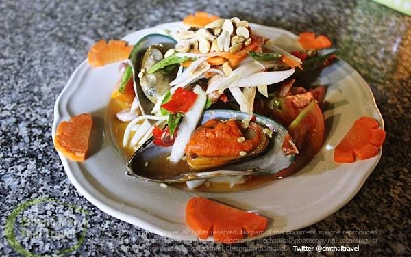 ตำหอยแมลงภู่นิวซีแลนด์ เมนูใหม่ต้อนรับลมหนาว กับส้มตำเปรี้ยวปาก!
