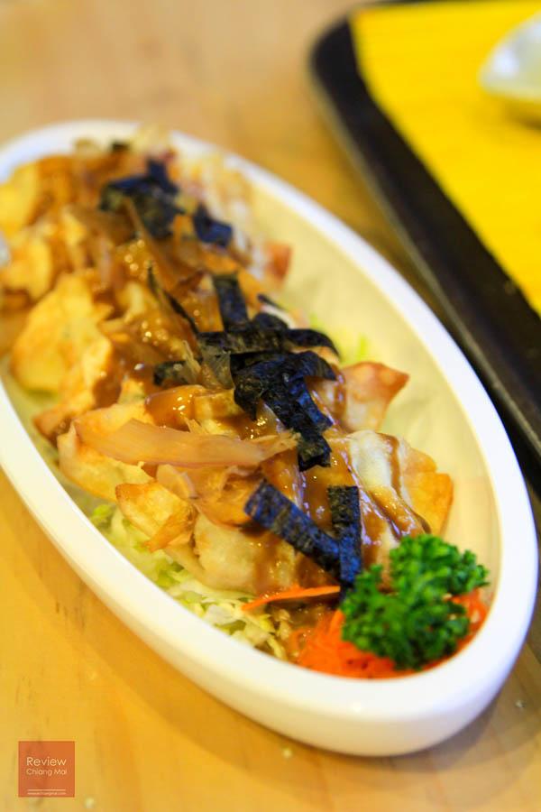 เมนูอาหารญี่ปุ่น เกี๊ยวซ่ายากิ