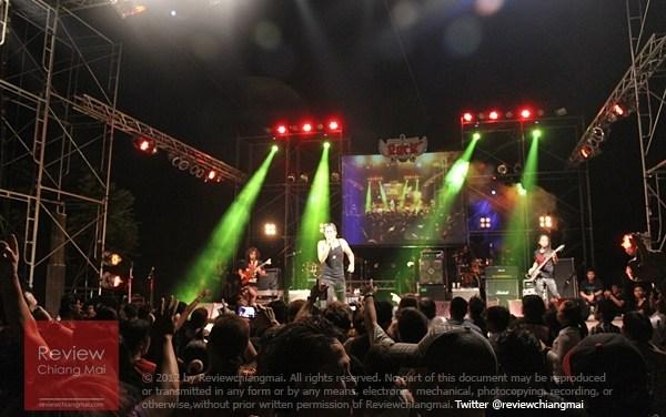 เปิดซิงเทศกาล Chiangmai Rock Fest ครั้งที่ 1
