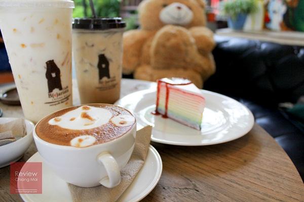Caffè B{e}arista ร้านกาแฟน้องหมีบรรยากาศกันเอง