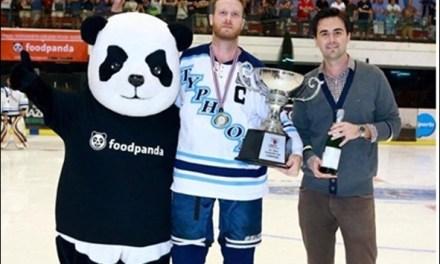 ฟู้ดแพนด้าสนับสนุนการแข่งขัน Land of Smiles Ice Hockey Classic 2014