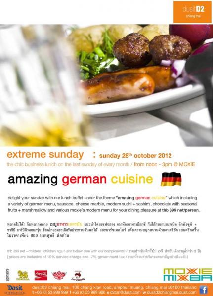 extreme sunday 28th october 2012 @ dusitD2 chiang mai