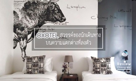 OXOTEL สวรรค์ของนักเดินทางบนความแตกต่างที่ลงตัว